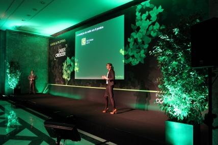 Paulo Caldeira, Business Development Director e Blandine Meyer Sector Food & Retail Shopper