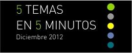 5 temas en 5 minutos | Diciembre 2011