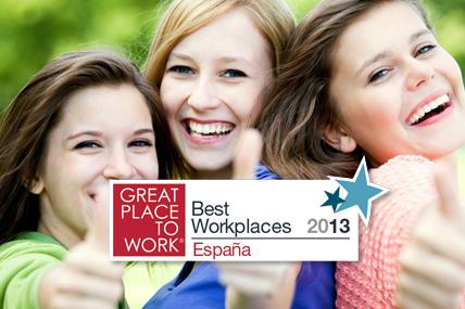 Es la única empresa de investigación de mercados incluida en la lista Best Workplaces