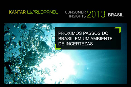 Estudo Consumer Insights do primeiro trimestre de 2013