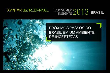 Estudo Consumer Insights do primeiro trimestre de 2013