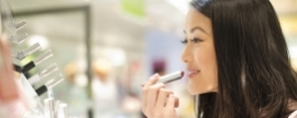 Weak cosmetic sales as cautious customers tone down spending