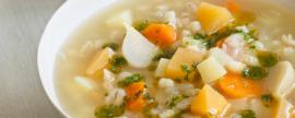 Sopa é sinônimo de frio?
