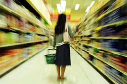 中国城市居民2013年在快速消费品上的花费较去年同期仅增长了7.4%