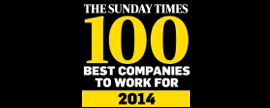 Kantar Worldpanel is within the UK's Best 100 Companies