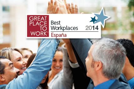 Mejora su posición y se sitúa 13ª en la categoría de 250 a 500 empleados