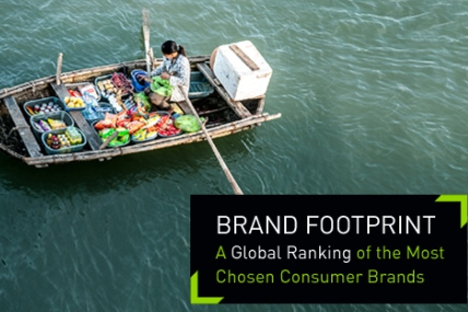 16 global FMCG brands chosen more than 1 billion times