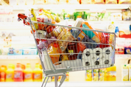 Grocery sales growing at their fastest rate for over a year