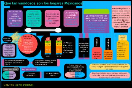 �Qu� tan vanidosos son los hogares Mexicanos?