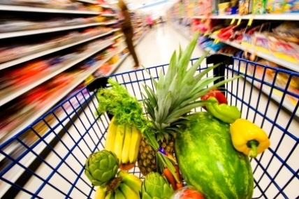 Grocery price inflation has fallen for the eleventh consecutive period to a historic low of 0.2%