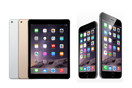 The iPhone 6 was the single most gifted smartphone while the iPad Air was the most gifted tablet.