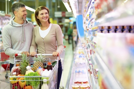 The latest supermarket share figures show a positive picture for the Irish grocery market with sales up by 1.2%.