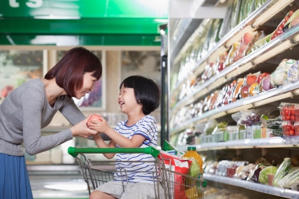 The grocery market in China grew at 4.4%, one percentage point below the 2014 annual value growth.