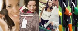 Redução do Volume no Consumo em 4 mercados
