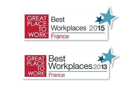 Kantar Worldpanel est reconnue comme une entreprise où il fait bon travailler dans le Palmarès Great Place To Work France 2013,2015 et 2017 dans la catégorie des entreprises de moins de 500 salariés