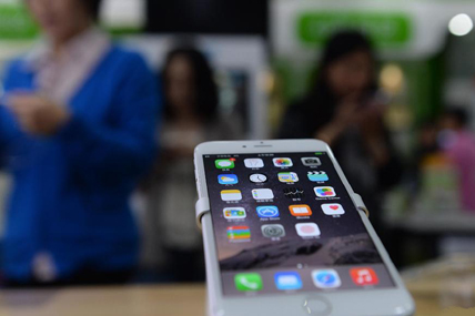 Apple's iOS sales captured 27.6% of the smartphone market in urban China.