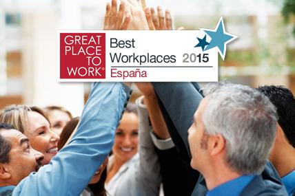 Mejora su posición y se sitúa 9ª en la categoría de 250 a 500 empleados
