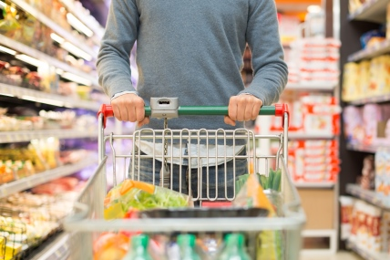 The competition among grocers means bargains for shoppers with the price of meat and vegetables dropping by 3% and bread by 2%.