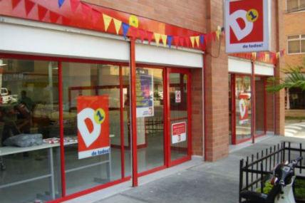 Crecimiento de las Tiendas D1 en Colombia