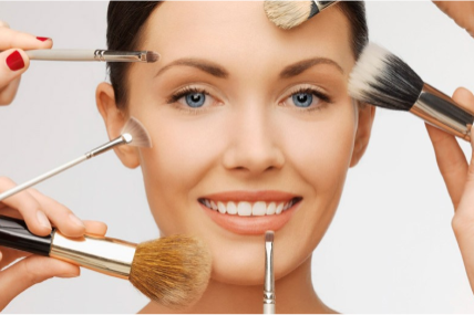 A retração nas vendas de maquiagem
