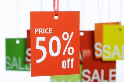 As promoções só fazem crescer 50% das marcas