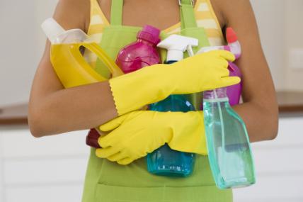 La lavandina es el limpiador con mayor penetración