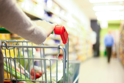 Supermarket sales have grown by 4.6% when compared with the same period last year � up from growth of 3.6% last month.