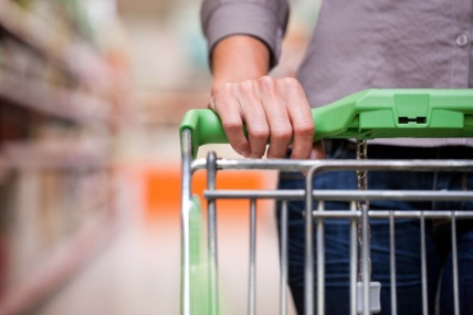 Continued growth for the grocery market with sales rising by 2.5% compared with last year.