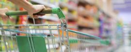 El consumo en hogares cayó un 4% en mayo