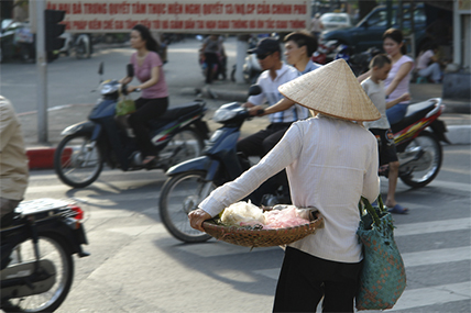 Vietnamese consumers are still attached to the traditional shops and wet market