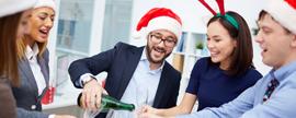 1 de cada 10 trabajadores celebra Cenas de Navidad