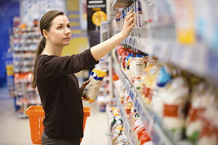 Grocery growth dips following bumper Christmas