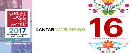 Kantar Worldpanel, 16° Mejor Empresa para Trabajar
