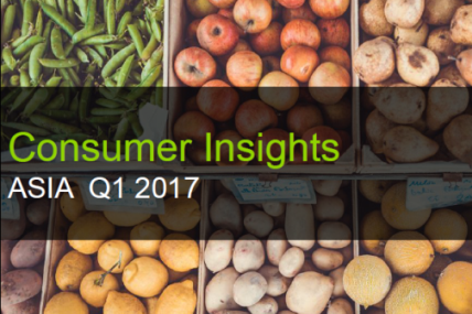 Explore FMCG trend across Asian countries in Q1 2017