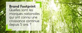 Brand Footprint : 5 ans de croissance