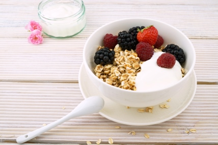 Yoghurt livens up the dairy market