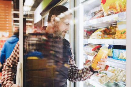 La información más buscada en las etiquetas son: cantidad de grasas, calorías y sodio.