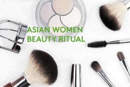 Asian Women Beauty Ritual