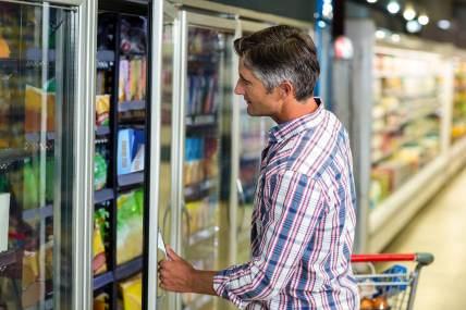 Dentro da Alimentação, são os Congelados que mais sentem o afastamento do comprador.