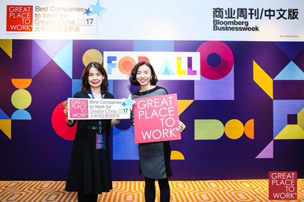 Best Companies to Work For® in Greater China 2017