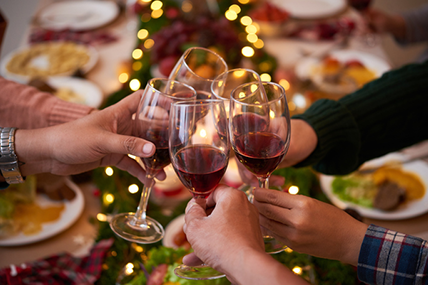 Shoppers were also partial to a Christmas tipple with sales of alcohol up almost 6% – a boost of €13 million.