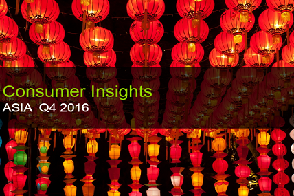 Brighter views in Urban Vietnam, India and Taiwan while a slight deceleration in Asia FMCG market.