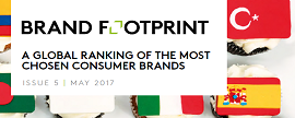 Vietnam's top 10 most chosen brands by sector 2017