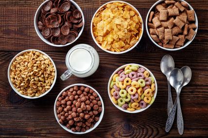 Un hogar consume 4 sabores distintos de cereales al año, dentro de los que destacan el sabor chocolate