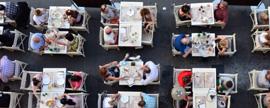 Portugueses gastam em média 55 € fora de casa