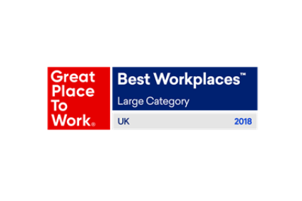 Kantar Worldpanel one of the UK's Best Workplaces