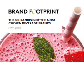 Brand Footprint: The most chosen UK beverage brands