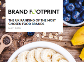 Brand Footprint: The most chosen UK food brands