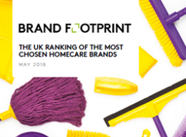 Brand Footprint: The most chosen UK homecare brands