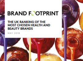 Brand Footprint: The most chosen UK health and beauty brands